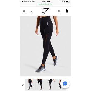 Gymshark Energy+ Seamless Leggings - Black